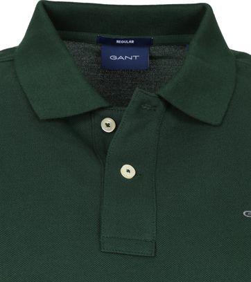 Gant Rugger Poloshirt LS Groen