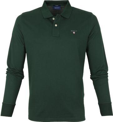 Gant Rugger Poloshirt LS Grün