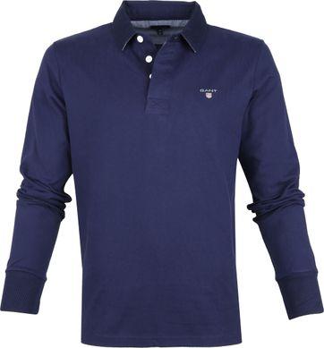 Gant Rugger Poloshirt LS Navy