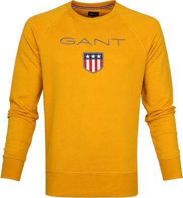 Gant Shield Sweater Ivy Gold