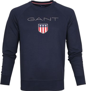 Gant Shield Sweater Navy