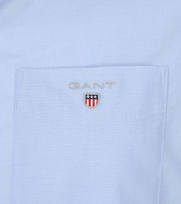 Gant Shirt Boradcloth Blauw