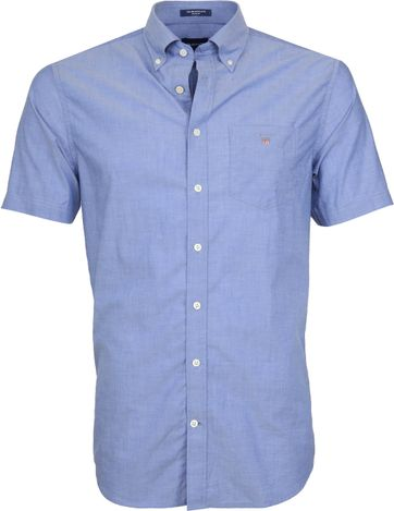 Gant Shirt Broadcloth Blue