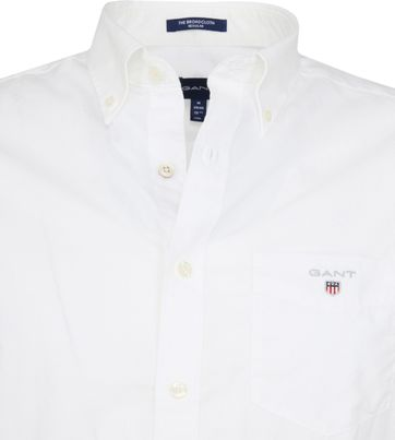 Gant Shirt Broadcloth White