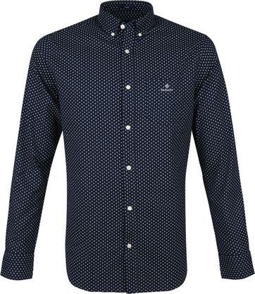 Gant Shirt Cherry Blossom Navy