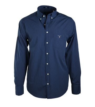 Gant Shirt Donkerblauw Streep