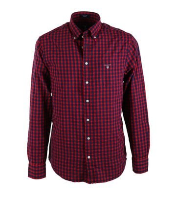 Gant Shirt Seersucker Rood