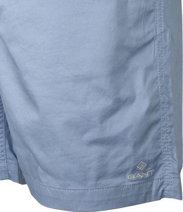 Gant Short Relaxed Blauw