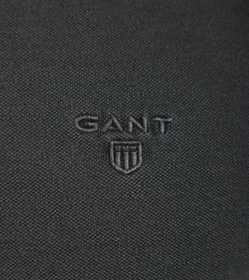 Detail Gant Sunbleached Polo Antraciet