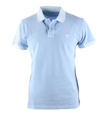 Gant Sunbleached Polo Blauw