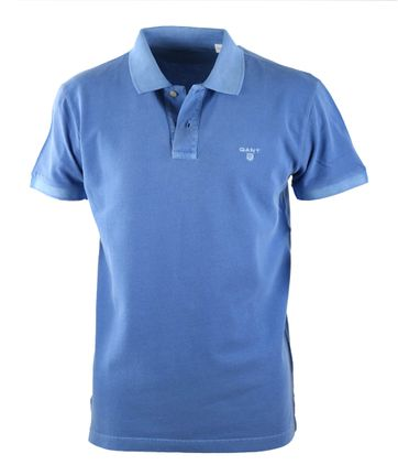 Gant Sunbleached Polo Palace Blue