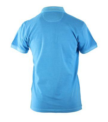 Detail Gant Sunbleached Polo Sharp Blue