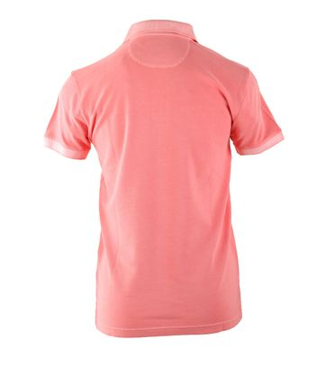 Detail Gant Sunbleached Polo Zalm