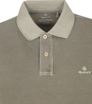 Gant Sunfaded Polo Aloe Groen