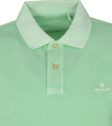 Gant Sunfaded Polo Groen