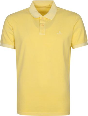 Gant Sunfaded Polo Shirt Gelb