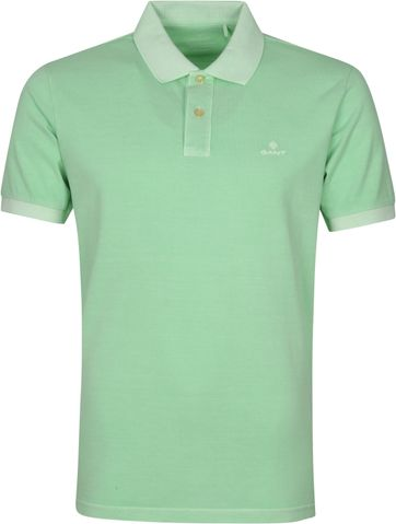 Gant Sunfaded Polo Shirt Green