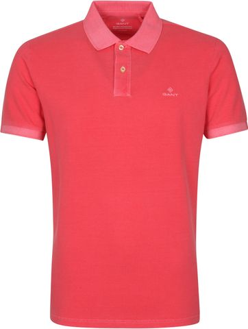 Gant Sunfaded Polo Shirt Rosa