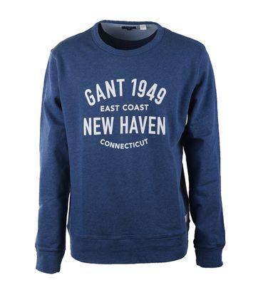 Gant Sweater Ocean Blue