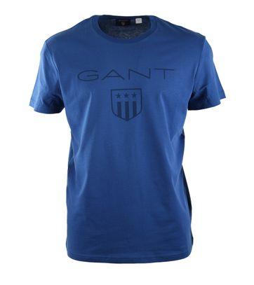 Gant T-shirt Giant Shield Blue