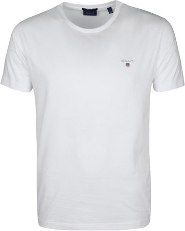 Gant T-Shirt Original Weiß
