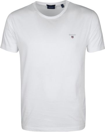 Gant T-Shirt Original Wit