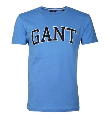 Gant T-shirt Outline Pacific Blue