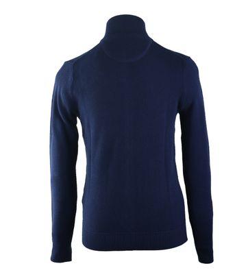 Detail Gant Vest Pique Donkerblauw