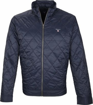 Gant Windcheater Jacket Quilted Navy