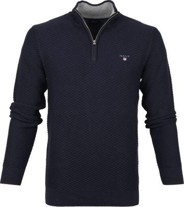 Gant Zip Sweater Dunkelblau