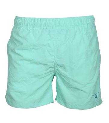 Gant Zwemshort Basic Turquoise