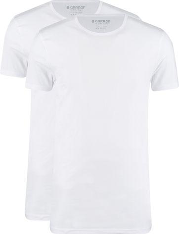 Garage 2-Pack Basic T-shirt Bio Weiß
