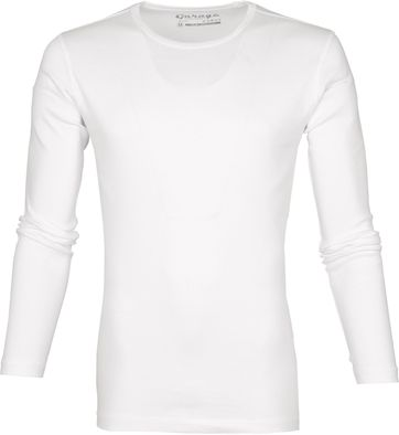 Garage Basic T-shirt Longsleeve Weis