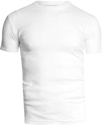 Garage Basic White O-Neck
