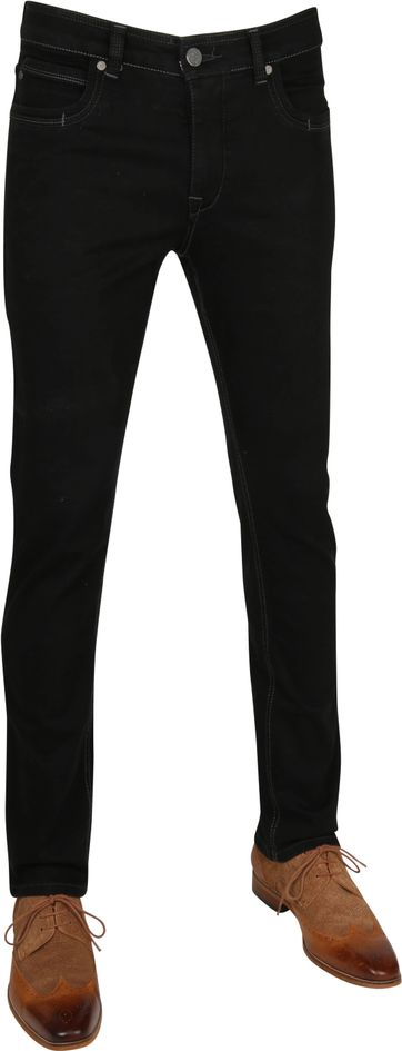 Gardeur Batu Black Pants