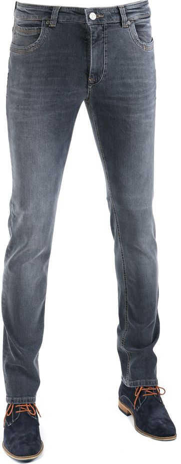 Gardeur Batu Jeans Anthraciet