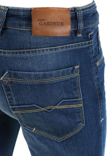 Detail Gardeur Batu Jeans Blauw