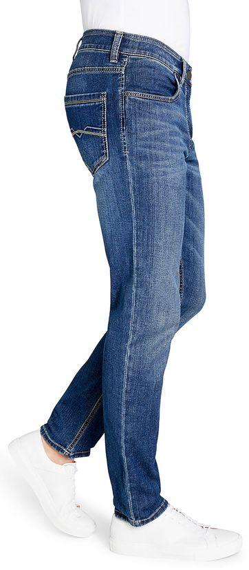 Gardeur Batu Jeans Indigo Blauw