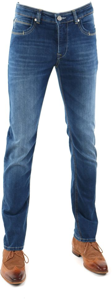 Gardeur Batu Jeans Modern-Fit Blau