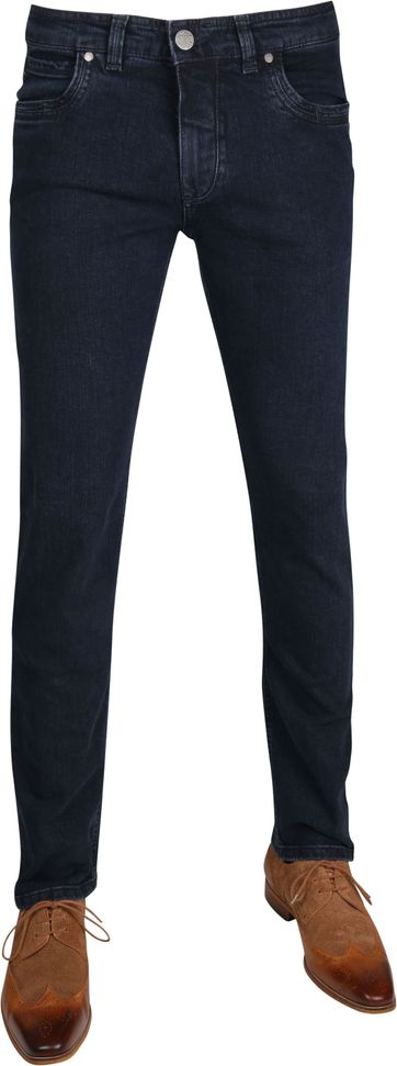 Gardeur Batu Pants Dark Blue