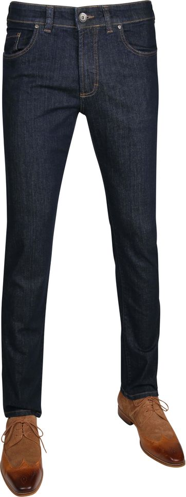 Gardeur Regular-Fit Jeans Nevio Navy