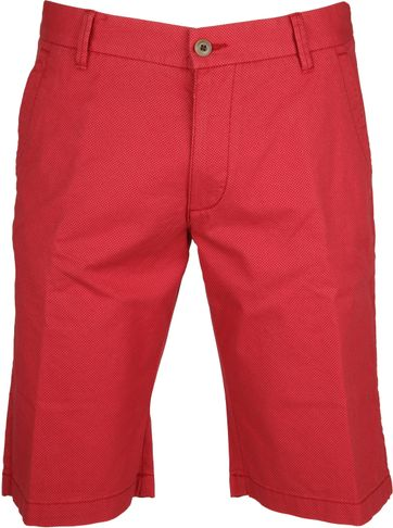 Gardeur Short Bermuda Dessin Rot