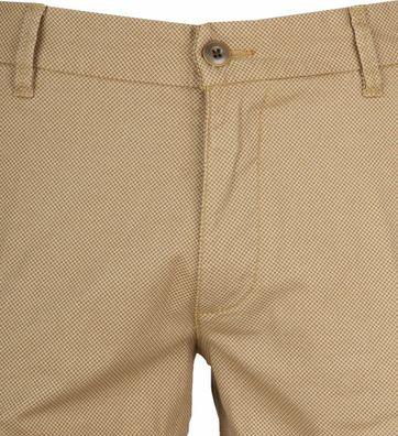 Gardeur Shorts Bermuda Dessin Brown