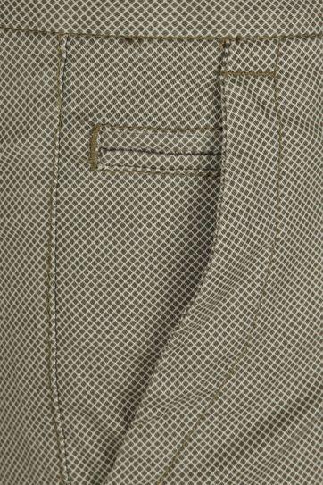 Gardeur Shorts Bermuda Dessin Green