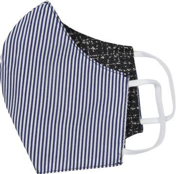Gardeur Waschbar Maske Antra Blue Streifen