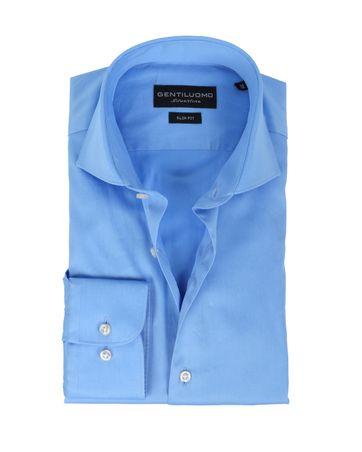 Gentiluomo Overhemd Rivoli Blau SF