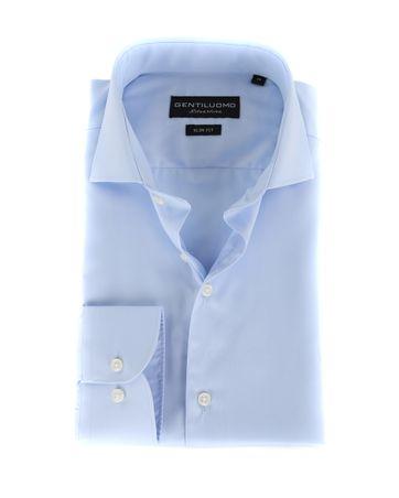 Gentiluomo Overhemd Rivoli Blauw