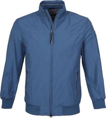 Geox Bomber Vincit Jacke Blau