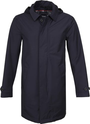 Geox Coat Sandford Navy