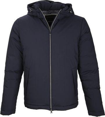 Geox Leton Hood Jacket Navy